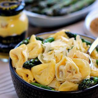 Tortellini with Mustard-Cream Sauce