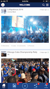 vPic - Share Pictures & Events- screenshot thumbnail