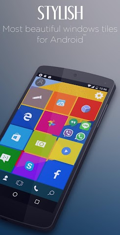 android Win Launcher Theme & Wallpaper Screenshot 0