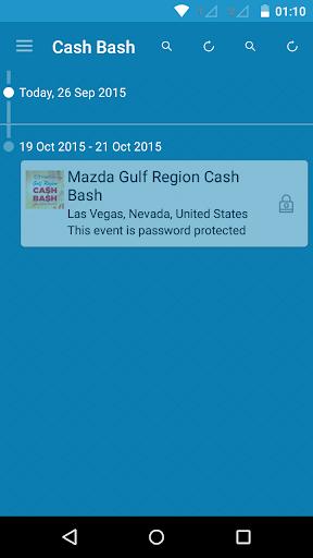 Mazda Gulf Region Cash Bash