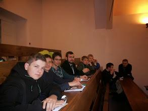 Photo: Spoločná fotka v aule bohosloveckej fakulty