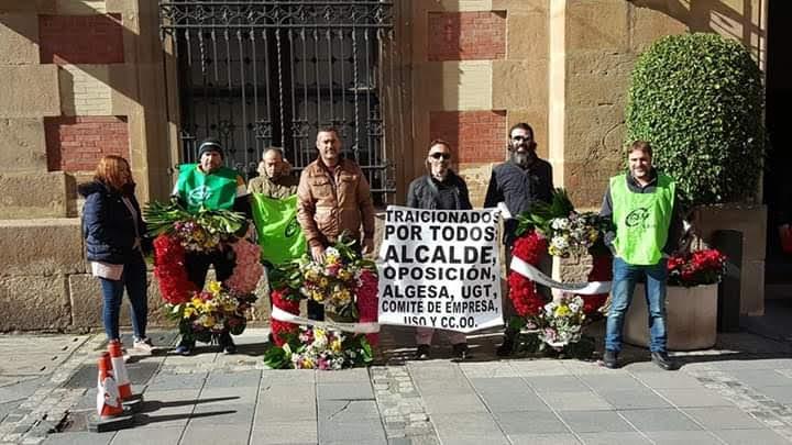 La Voz de Algeciras muestra su apoyo al trabajador de Algesa expedientado