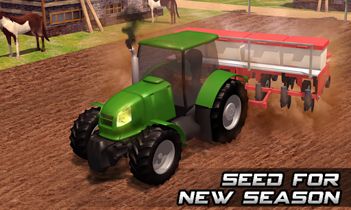 Farming sim 2018 - Tractor driving simulator apkdebit screenshots 3