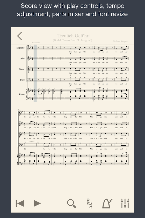 MuseScore Songbook - screenshot