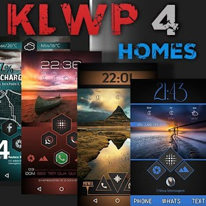 Download: KLWP 4 homes Unlimited Version - Android APK Storage