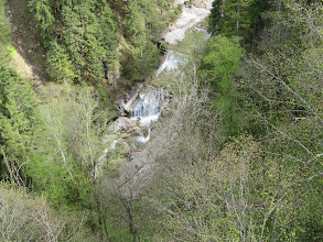 Photo: Day 41 - Waterfalls at  Schloss Neuschwanstein