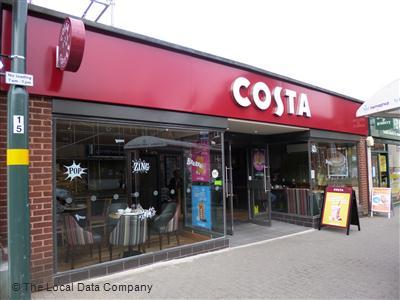 Costa On High Street Coffee Shops In Harborne Birmingham
