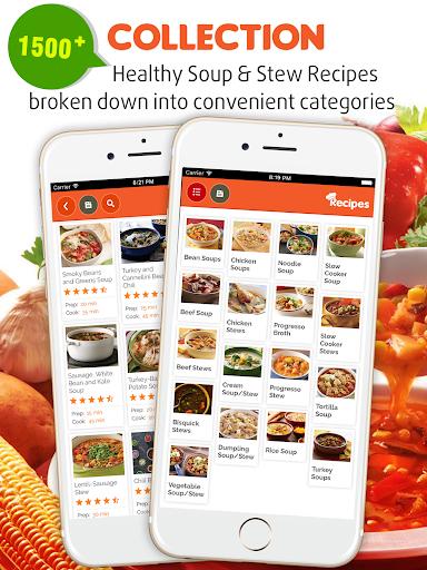 玩免費遊戲APP|下載Yummy Soup & Stew Recipes app不用錢|硬是要APP