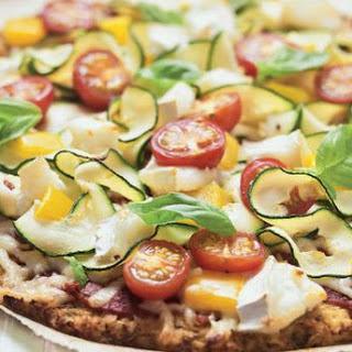 Cauliflower Crust Mediterranean Pizza Recipe