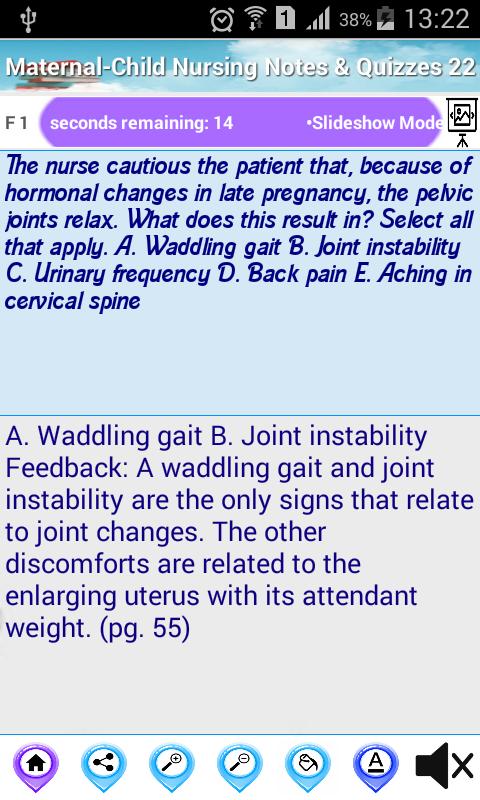 Скриншот Maternal-Child Nursing Free App for self Learning