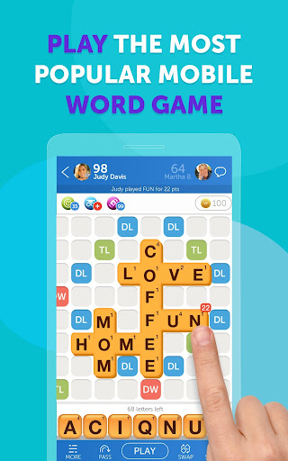 Words With Friends u2013 Word Puzzle apkpoly screenshots 1