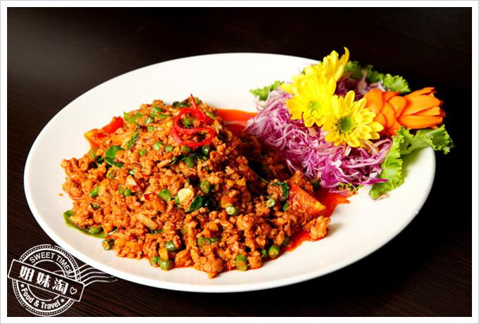 阿杜皇家泰式料理菜單打拋豬肉