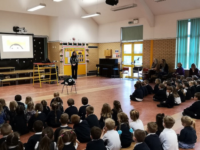 Schoolchildren learn about signs of abuse
