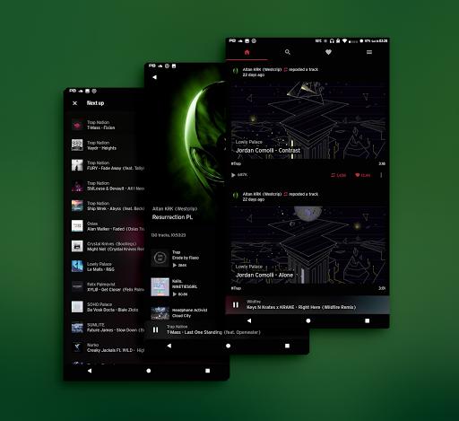 PitchBlack - Substratum Theme u272a Nougat/Oreo/Pie  screenshots 17