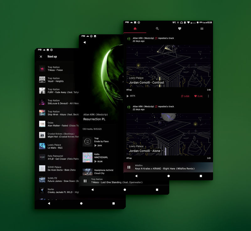 PitchBlack│Substratum Theme ✪ Nougat✔Oreo✔OOS 8.0½ Screenshot 16
