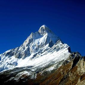 Shibling, Topovan, India by Bhaskar Patra - Landscapes Mountains & Hills (  )