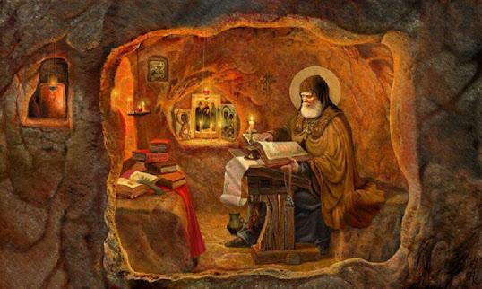 Αποτέλεσμα εικόνας για αγιος ισαακ ο συρος ασκητικα