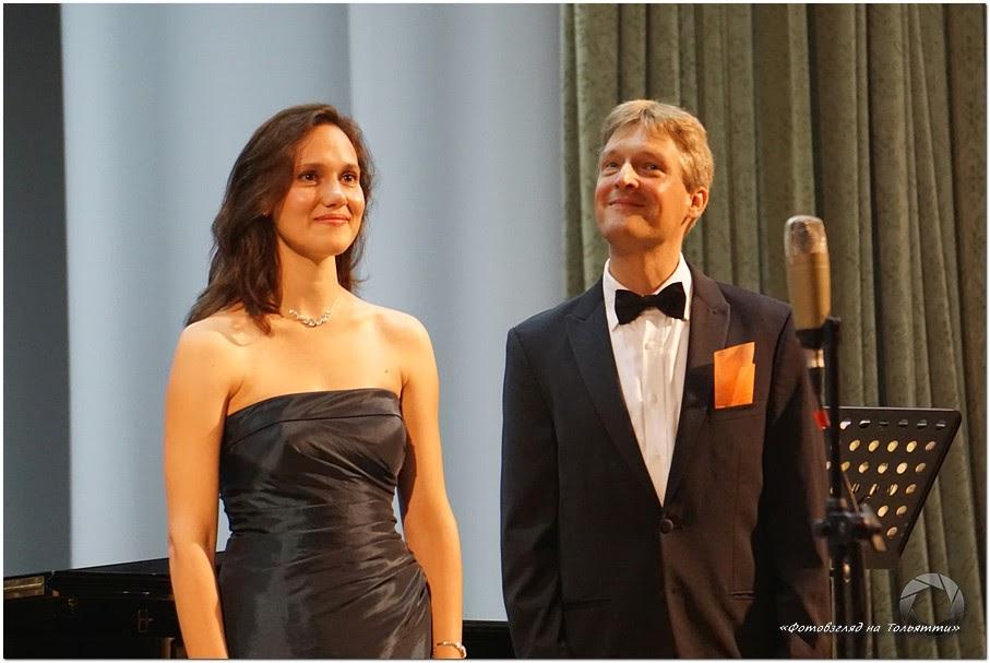 Мария Мёллер (сопрано) и ее супруг Хауке Мёллер (тенор)