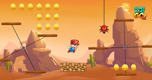 Super Bino Go 2 - Classic Adventure Platformer apkslow screenshots 3