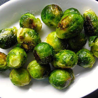 Spicy Maple Brussels Sprouts.