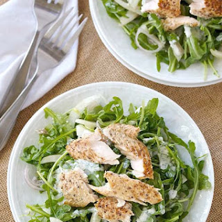 Smoked Trout Salad with Arugula and Fennel