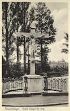 Photo: 1925 Kruis bij het Liesbos