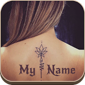Tattoo Name On My Photo