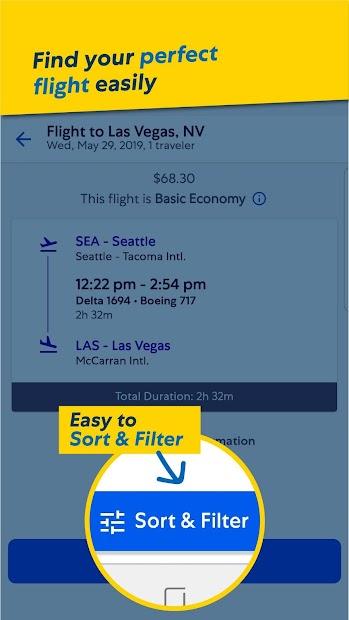 Expedia Hotels, Flights & Car Rental Travel Deals Android App Screenshot