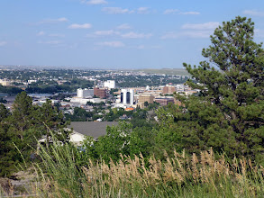 Photo: Rapid City has a population 69,854 with 138,000 in the metro area. It's the 2nd-largest city in South Dakota after Sioux Falls.