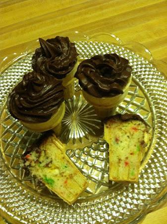 Cone Cupcakes w/Nana Recipe