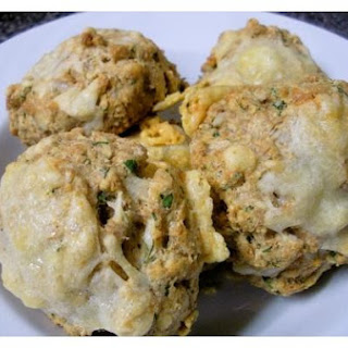 Whole Wheat Cheese & Herb Biscuits