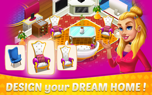 Home Design & Mansion Decorating Games Match 3 1.38 de.gamequotes.net 5