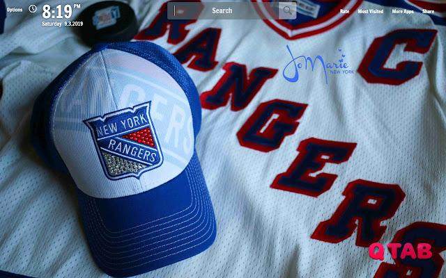 NY Rangers New Tab NY Rangers Wallpapers