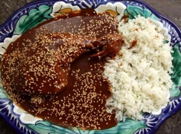 Oaxacan Black Mole And Chicken Recipe