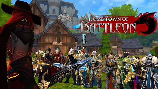 AdventureQuest 3D MMO RPG Mod Apk Download For Android and Iphone 5