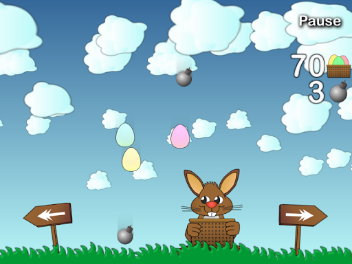 Rushing Bunny, help me to collect all the eggs screenshots 5