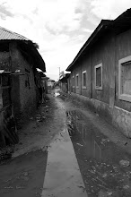 Photo: Nov -5th. Community alley. Problem with flooding. (taken by Jonathan Kalan http://www.puravidaphotos.com/the-bop-project)