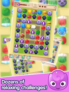 Jelly Splash - Line Match 3 screenshot 08