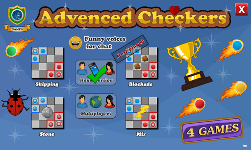 Advanced Checkers