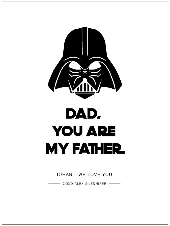 DAD-YOU ARE MY FATHER