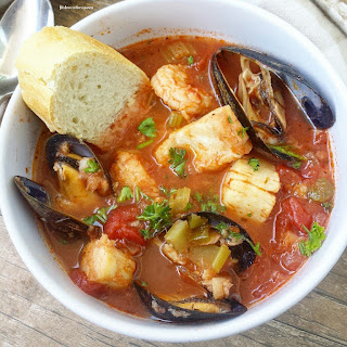 Slow Cooker Seafood Cioppino.