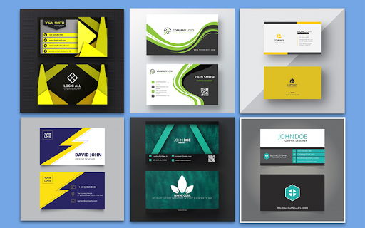 Foto do Business Card Maker – Free Employee Card maker
