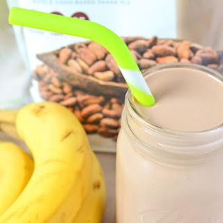 Chocolate Banana Protein Milkshake