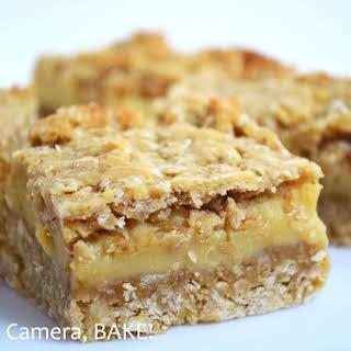 Buttery Caramel Oat Slice.