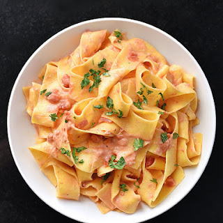Pasta with Vodka Sauce