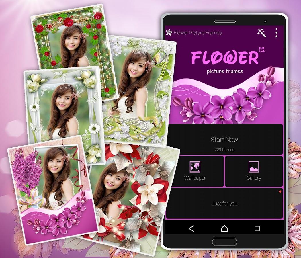 marcos de cuadros de flores - Aplicaciones Android en Google Play