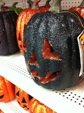 Photo: And I couldn't pass up this glitter pumpkin. This is what I mean when I say you always leave WalMart with more than you came for!