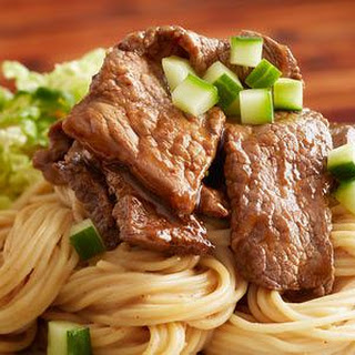 Satay-style Beef And Pasta