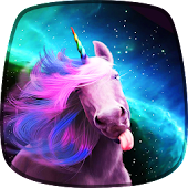 Cartoon Unicorn Live Wallpaper