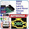 Diagnose Cars for BMW Seat, Ford, Nissan,Lancia icon